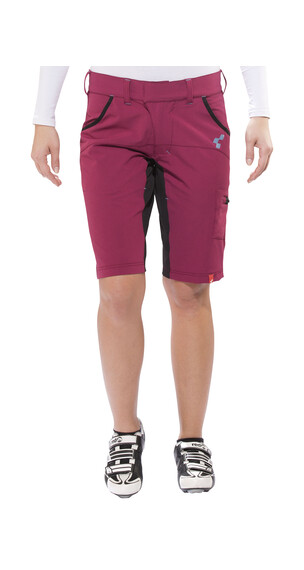 Cube Motion WLS Shorts Damen cranberry
